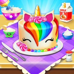 Unicorn Cake Maker Baking Game