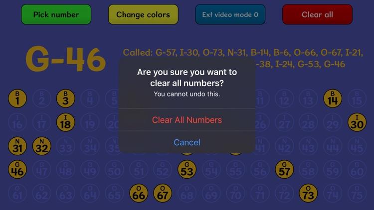 Bingo Caller screenshot-3