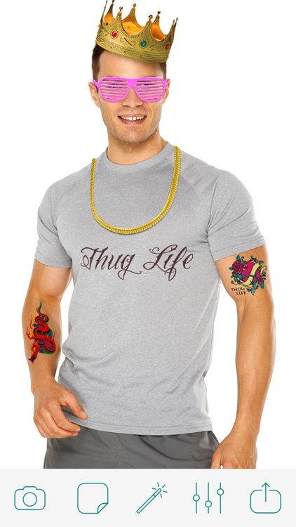 Thug Life Photo Booth Pro screenshot-3