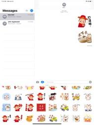 Chinese New Year Emoji Sticker ipad images