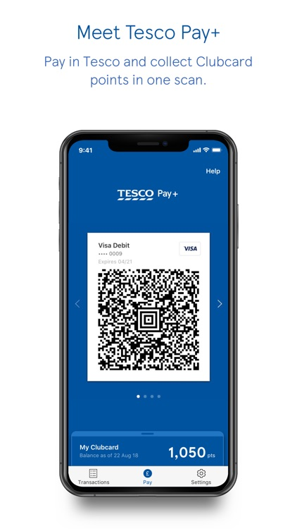 Tesco Pay+ for simple checkout screenshot-0