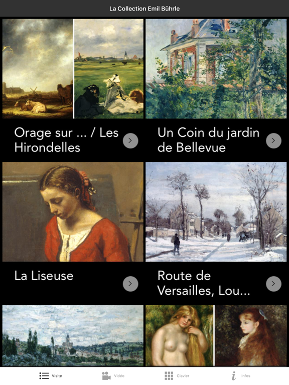 La collection Emil Bührle screenshot 6