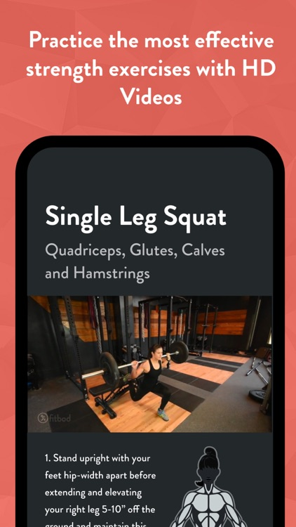 Fitbod Gym & Home Workout Log screenshot-3
