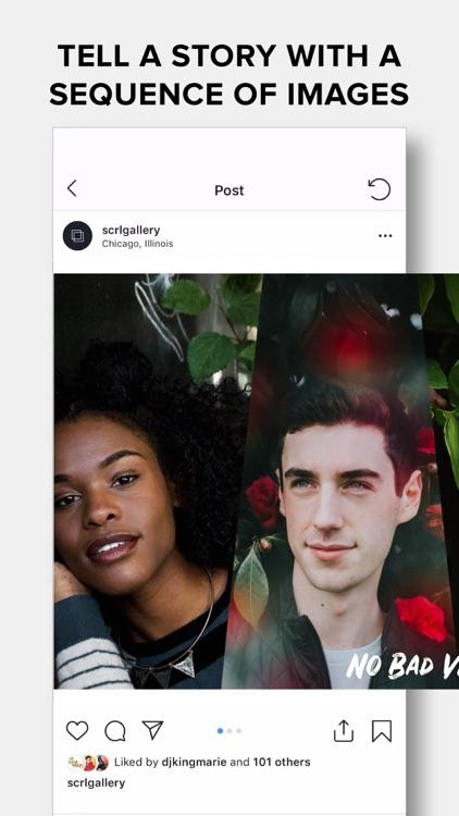 SCRL - Collages for Instagram screenshot-0