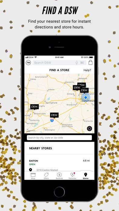 8e6fec383d4 ... Screenshot for DSW Designer Shoe Warehouse in United States App Store  ...