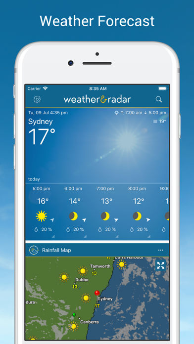 Weather & Radar - ad free Screenshots