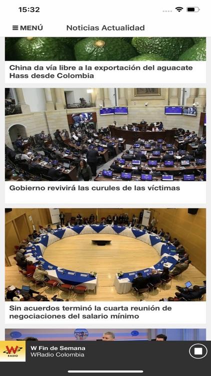 WRadio Colombia para iPhone screenshot-4