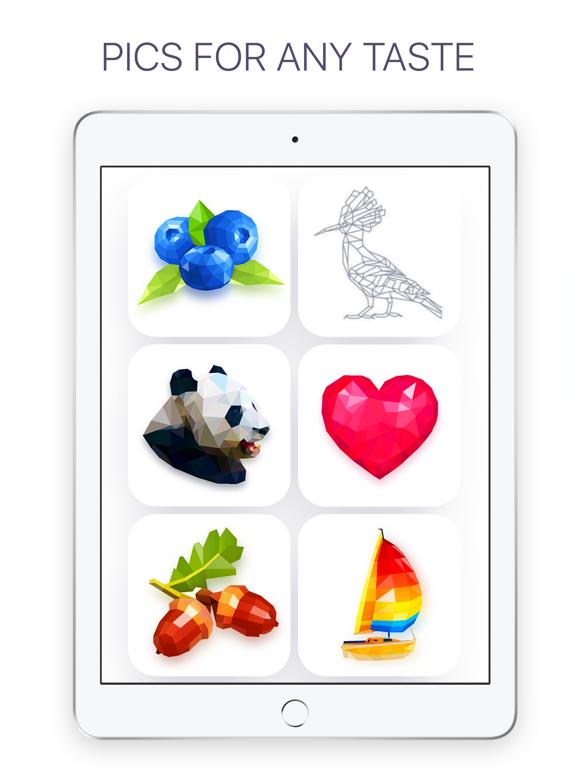 Poly: Coloring Puzzle Art Book screenshot 9