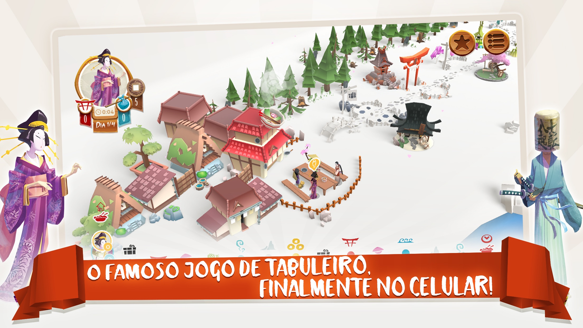 Screenshot do app Tokaido™