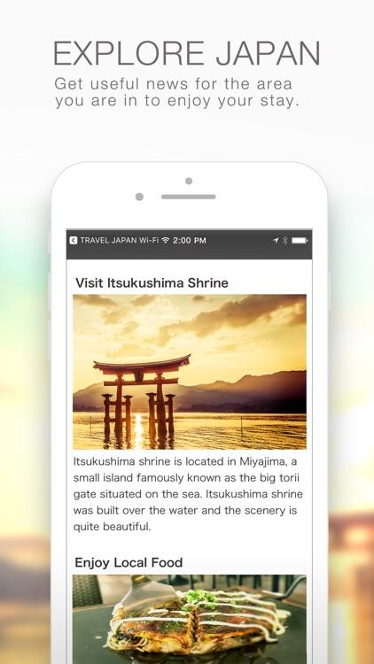TRAVEL JAPAN Wi-Fi screenshot-3