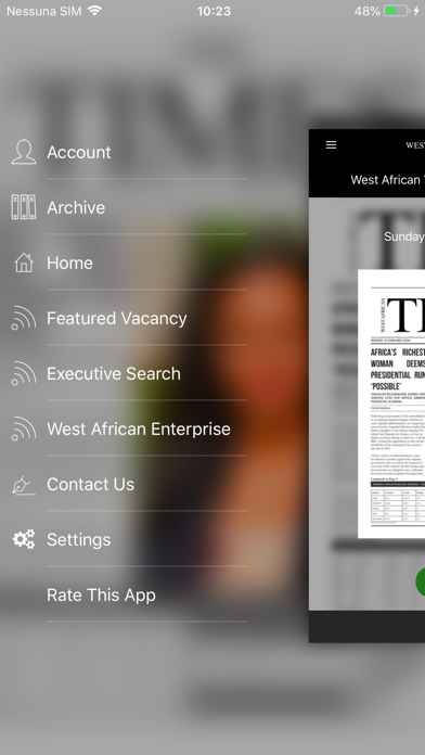 West African Careers screenshot two