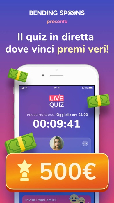 Live Quiz - Win Real Prizes screenshot 1