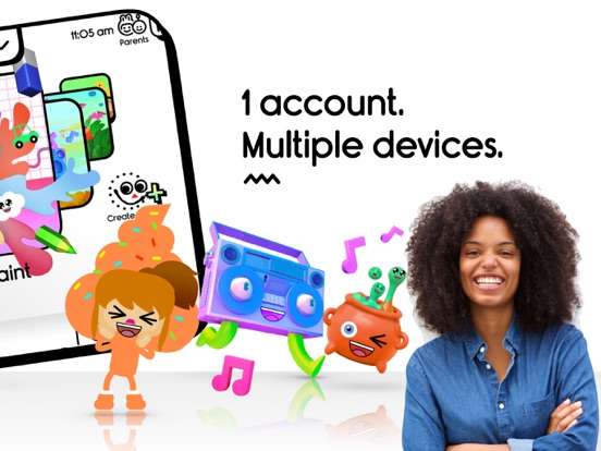 iPad Image of Boop Kids - My Avatar Creator