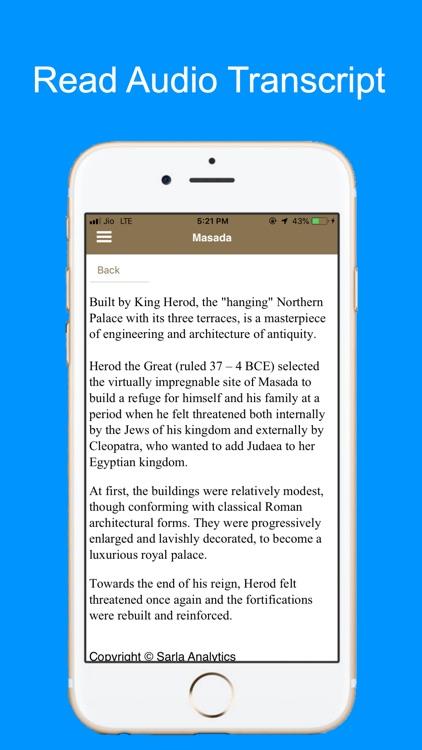 Masada Fortress Tour Guide screenshot-5