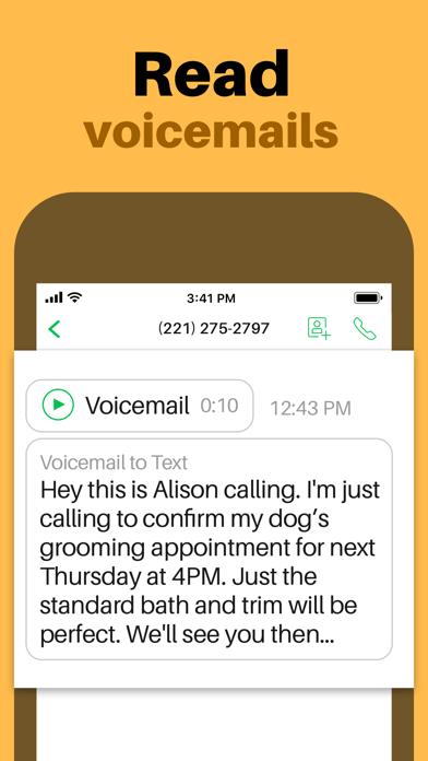Sideline: Second Phone Number