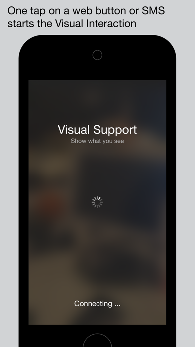 Visual Support screenshot one