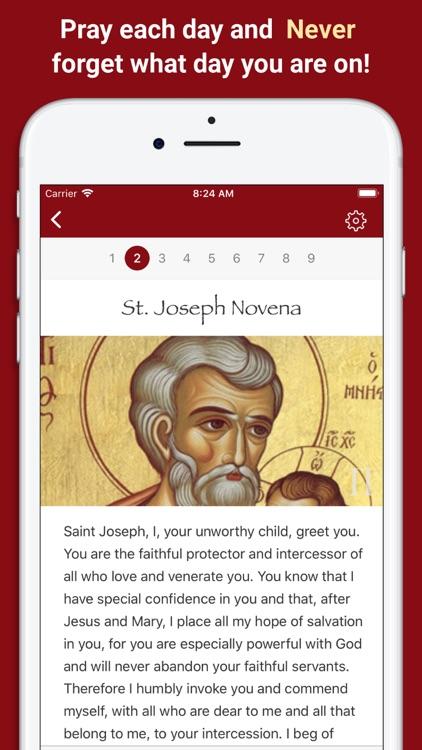 Pray Catholic Novena Prayers screenshot-4