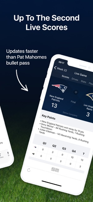 Pro Football Live Nfl Scores On The App Store