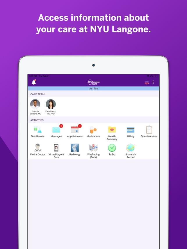NYU Langone Health on the App Store