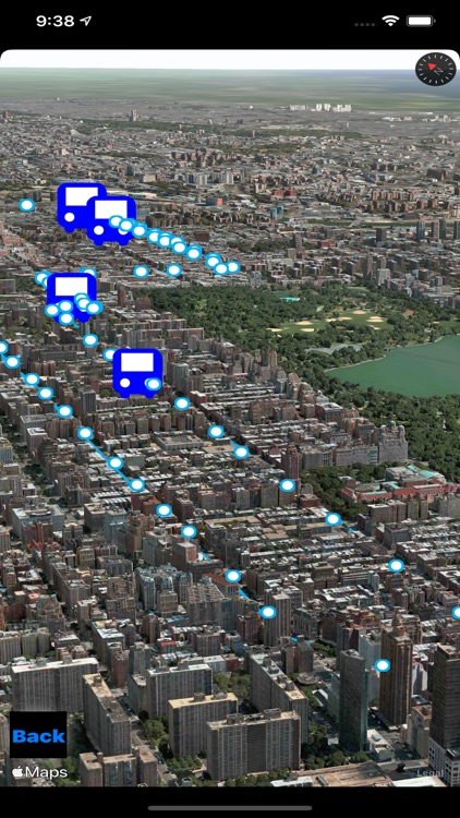 NYC Bus in 3D City View screenshot-4