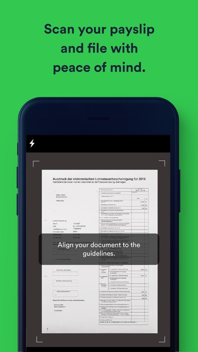 Screenshot for Taxfix – Easy tax declaration in Pakistan App Store