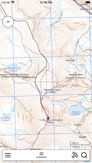 Snowdonia Outdoor Map screenshot 3