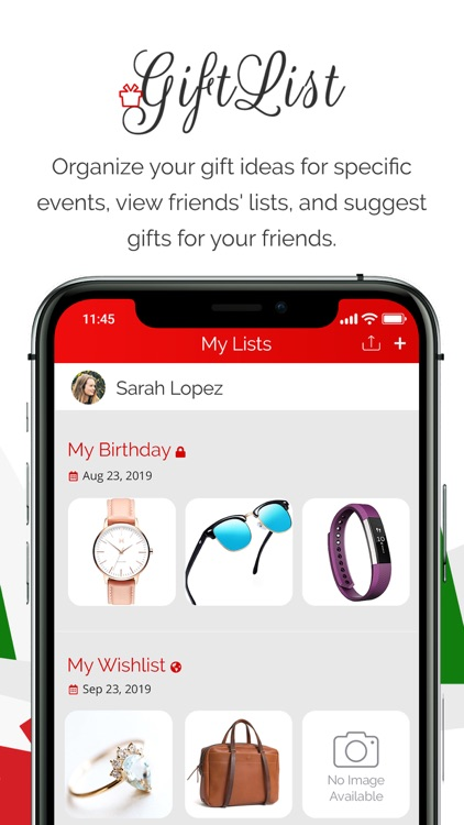 GiftList – A Gift Sharing App