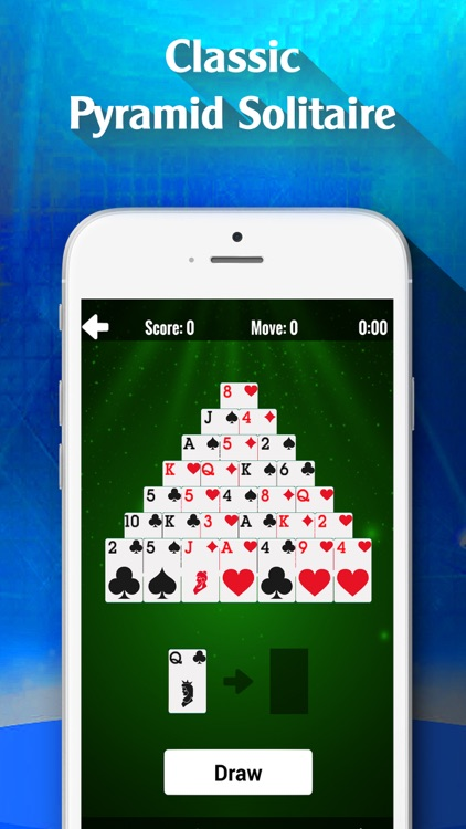 Pyramid Solitaire Card Classic