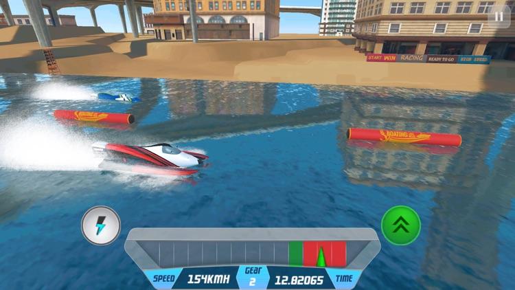 Speed Boat Racing Simulator 3D screenshot-3