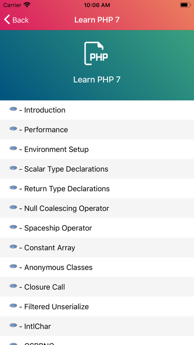 Learn PHP 7 Programming [PRO] screenshot 3