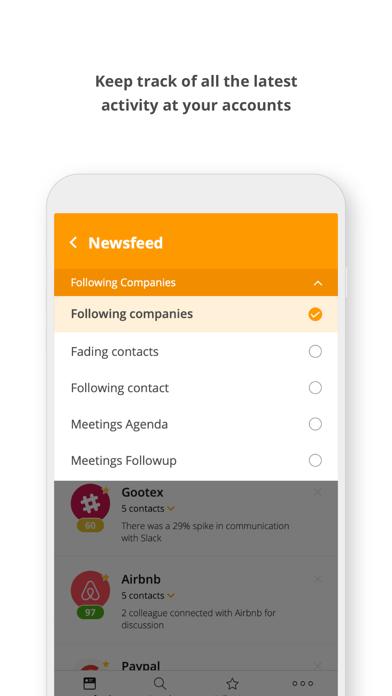 Datahug Mobile screenshot one