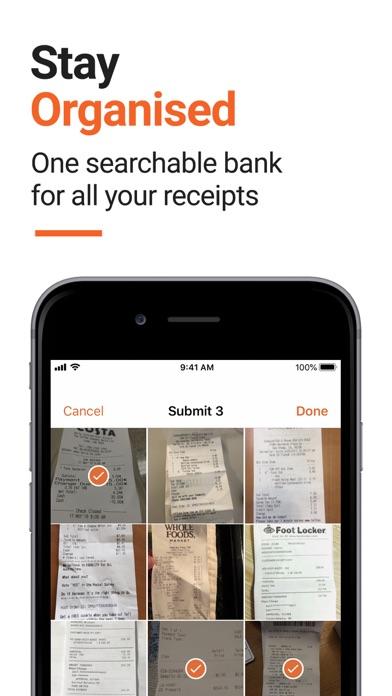 Receipt Bank Screenshot