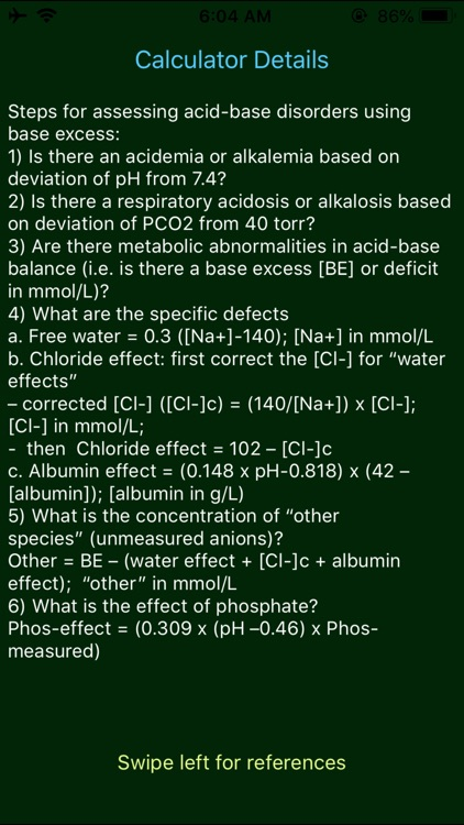 Madger Acid Base Calculator