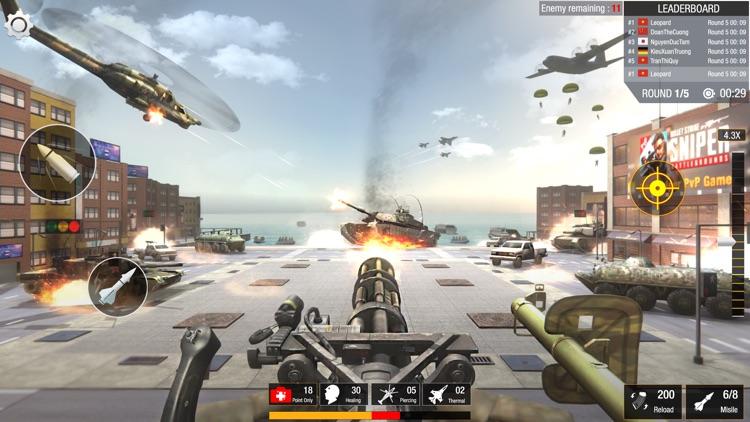Sniper 3D: Bullet Strike PvP screenshot-3