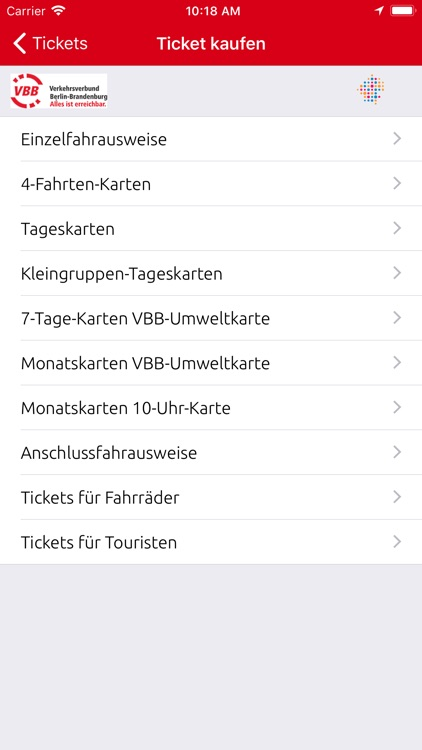 VBB Bus & Bahn screenshot-5