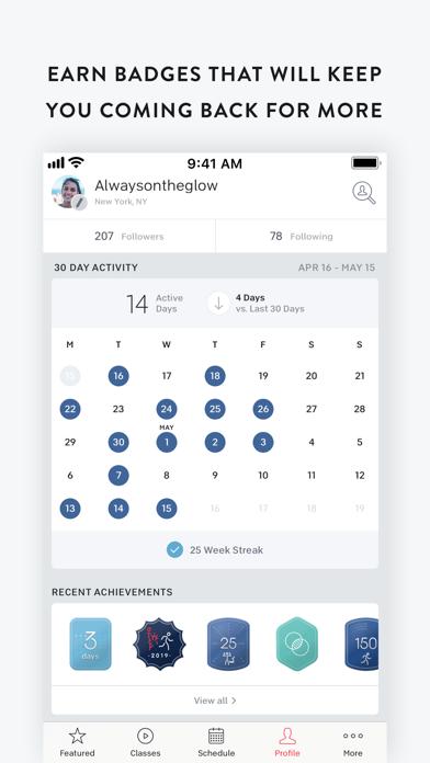 Peloton Digital Screenshot