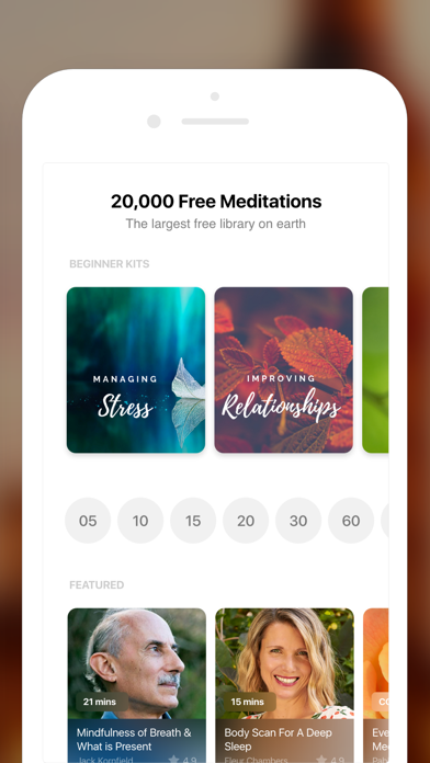 Insight Timer - Meditation App Screenshot