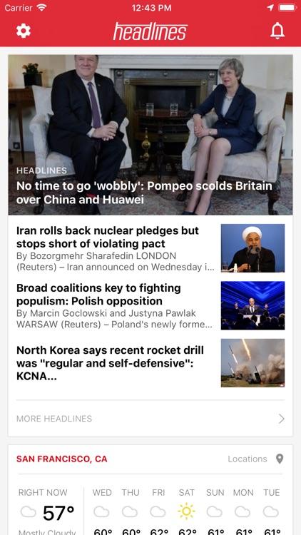 Headlines: Live Breaking News