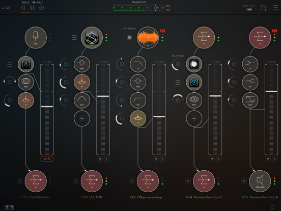 Screenshot #4 pour AUM - Audio Mixer