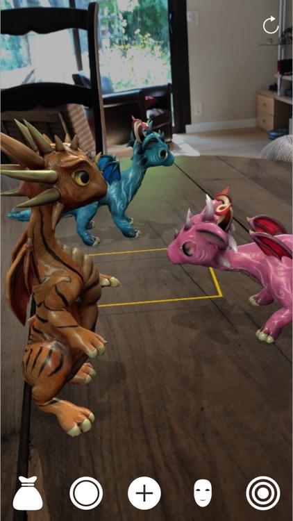 ImagiPets: AR Dragons and pets screenshot-0