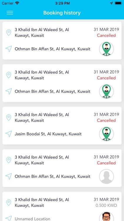 Talyaa تاليا -Taxi Booking App screenshot-6