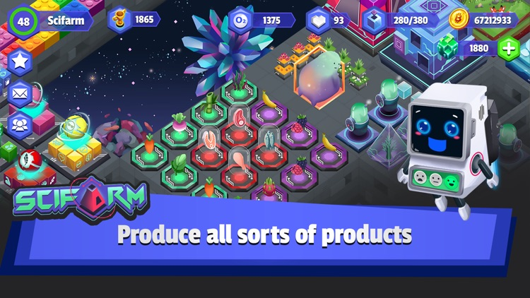 SciFarm - Space Zoo & Farming screenshot-2