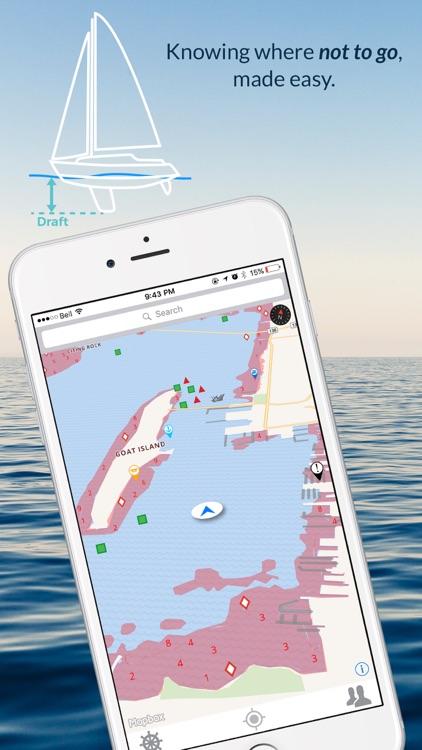 Wavve Boating-Easy Marine GPS screenshot-3