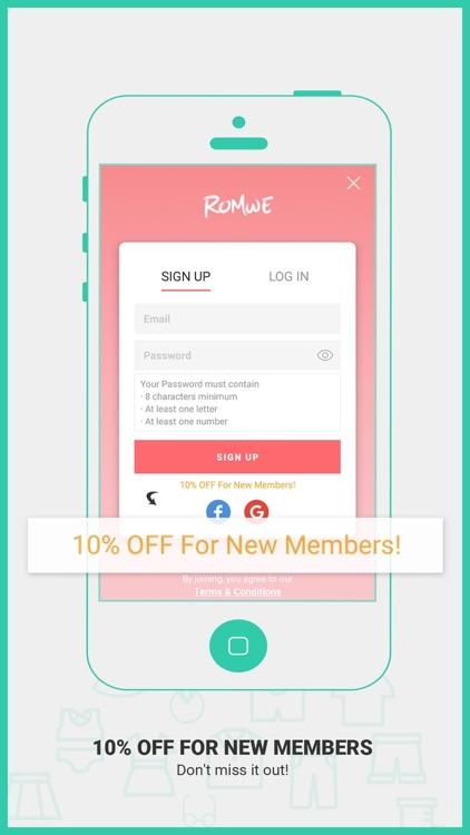 ROMWE - Fashion Store screenshot-3