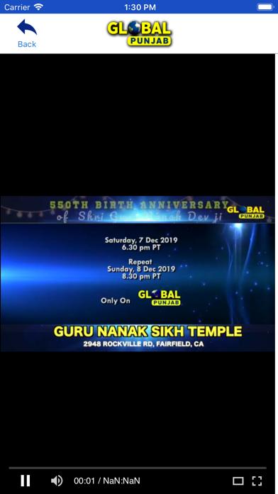 GlobalPunjabTV screenshot three