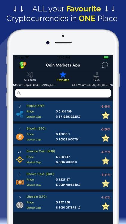 Coin Markets - Crypto Tracker screenshot-4