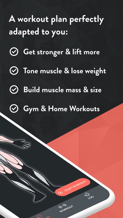 Positive Reviews: Fitbod Weight Lifting Workout - by Fitbod