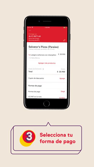 Screenshot for iFood Colombia in Venezuela App Store