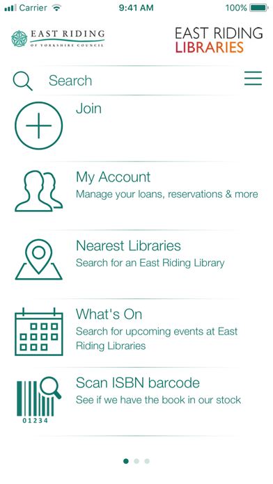 East Riding Libraries screenshot one