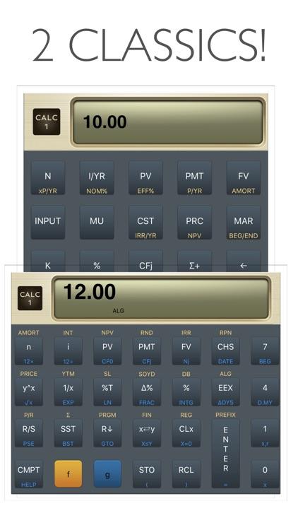 CALC 1 Financial Calculator screenshot-0